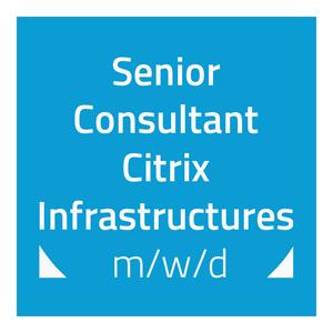 hartech sucht: Senior Consultants Citrix Infrastructures (m/w/d)