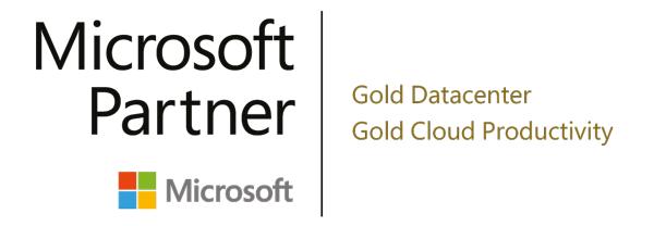 hartech – die IT-Experten! Wir sind Microsoft Partner Gold Datacenter und Gold Cloud Productivity!