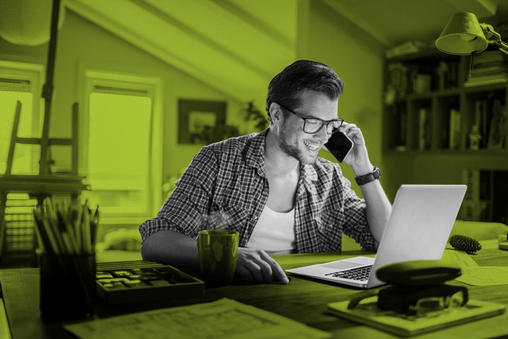 Sicheres Arbeiten aus dem Home-Office durch Einsatz von Desktop-Virtualisierung