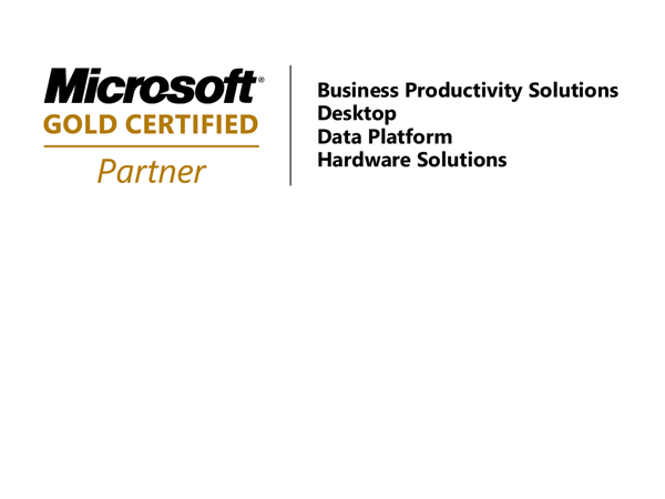 hartech, die IT-Experten! Microsoft Gold Certified Partner