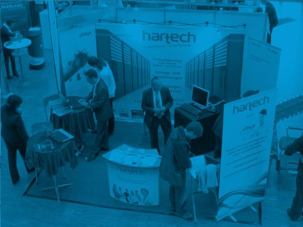 hartech, die IT-Experten! hartech als Aussteller auf dem IT Tag 2011